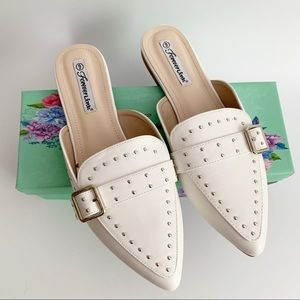 Forever Link Studded Mules
